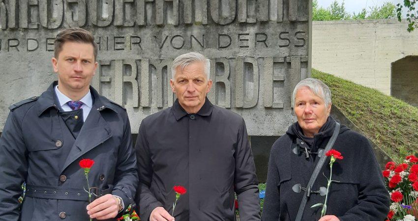 74. Jahrestag der Befreiung des KZ Dachau
