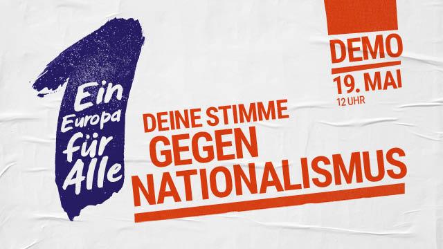 Deine Stimme gegen Nationalismus!