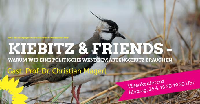 """""""Kiebitz & Friends – Wende im Artenschutz"""