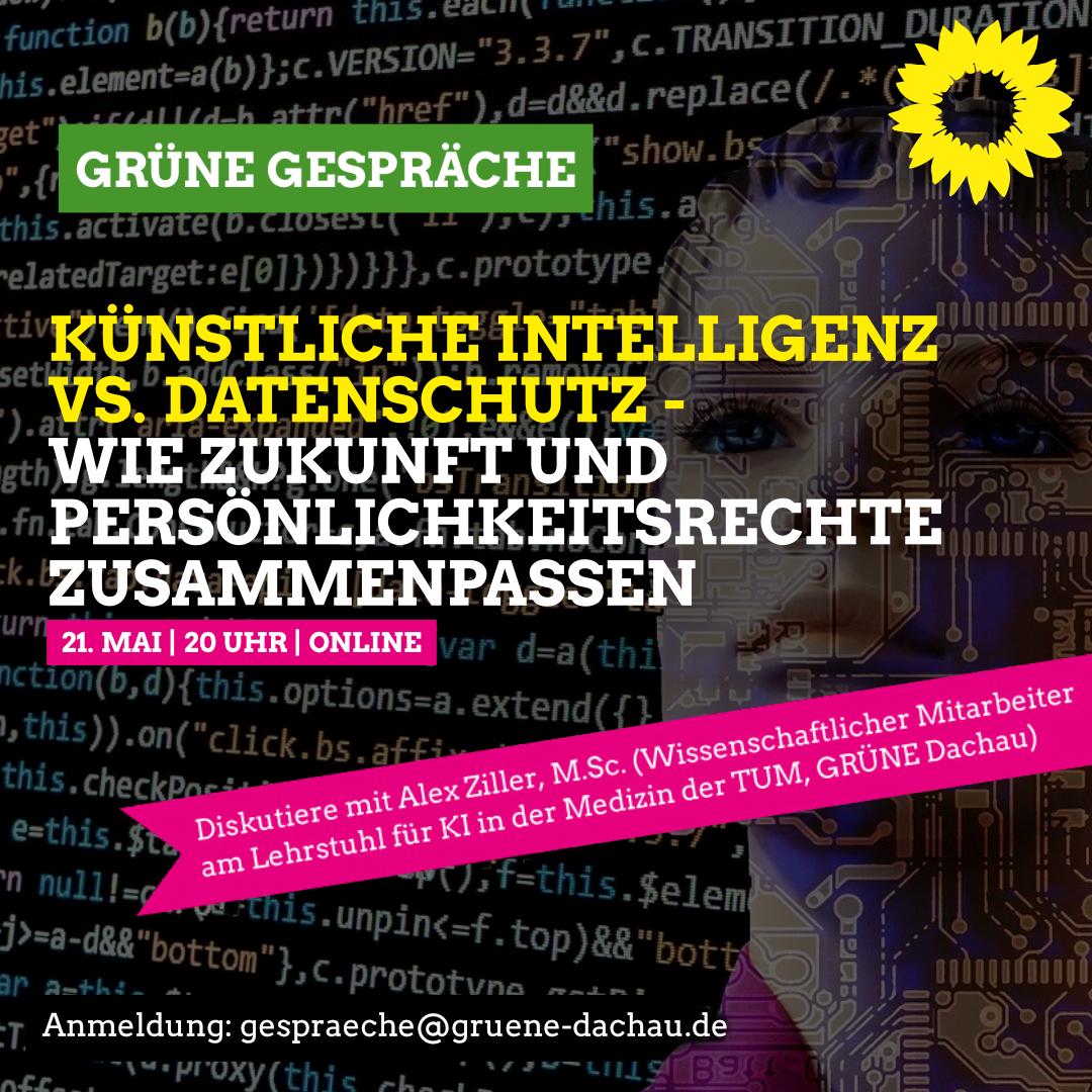 Künstliche Intelligenz vs. Datenschutz – Wie Zukunft und Persönlichkeitsrechte zusammenpassen