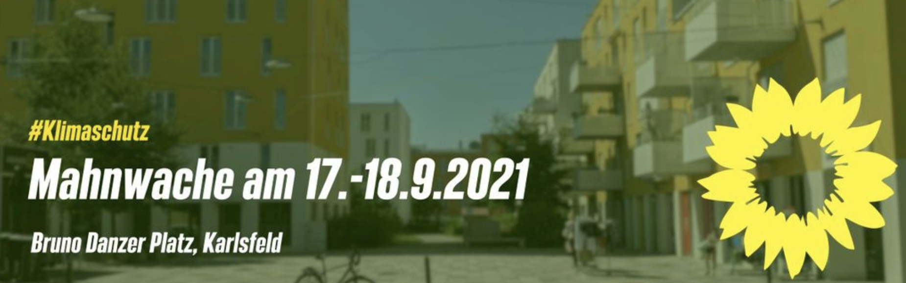 24h Klimaschutz-Mahnwache